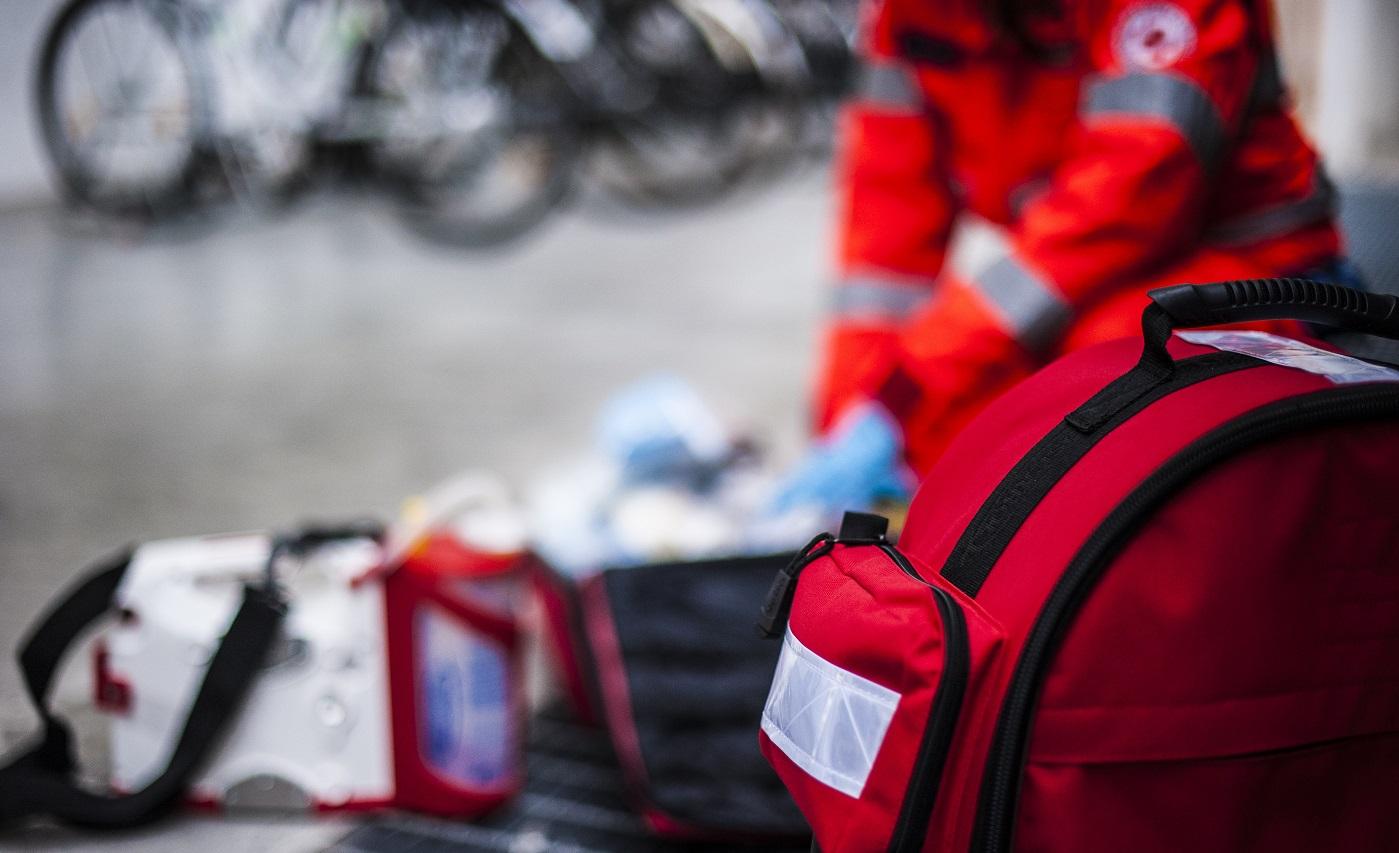 intervento ambulanza per incidente